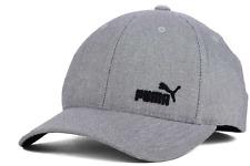 Puma Fame Flexfit Stretch Fit Gray Cap Hat $28 Size L/XL