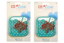 Prym Amor Magnético Pin Cushion-Twin Pack