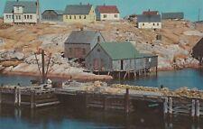 """*Canada Postcard-""""Peggy's Cove"""" ...Nova Scotia"""