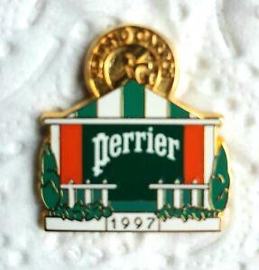 Pin's Arthus Bertrand / Roland Garros , tennis , Perrier , 1997        -20-