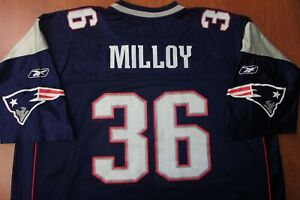 Vintage Reebok NFL New England Patriots Lawyer Milloy On Field Jersey 2XL ~NEW~