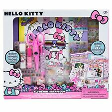 Hello Kitty All-in-One DIY Scrapbook by Horizon Group USA,Includes Over 400