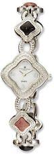 Ladies Charles Hubert Dumortierite/Rhodonite Bracelet Watch