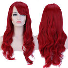 UK Stock Women Full Wig Long Short Straight Wavy Hair Synthetic Wigs Highlight #