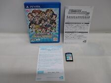 PS Vita -- The Idolmaster Must Songs Blue -- PlayStation Vita, JAPAN Game. 64091