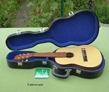 Vintage Hopf Oktavgitarre 1/8 Konzert-Gitarre Fichte massiv + Meinel Koffer Top!