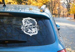 Hufflepuff Harry Potter Vinyl decal Sticker Car Window laptop  OZ 9 COLOR