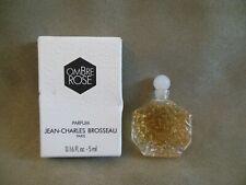 OMBRE ROSE JEAN-CHARLES BROSSEAU MINI PERFUME 0.16 oz - 5 ml FULL BOTTLE