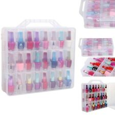 Nail Polish Holder Display Container Case Organizer Storage 48 Lattice Salon DIY