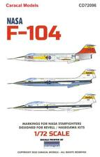 Caracal Decals 1/72 Lockheed F-104 Starfighter In Nasa Service