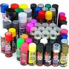 Spray Paint Black White Silver Red Blue Purple Primer Neon Glitter Gloss Matt