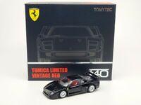 1:64 Tomytec Tomica Limited Vintage Neo Ferrari F40 Black TLV-N Opening Bonnets