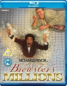 BREWSTERS MILLIONS (1985) BLU RAY Richard Pryor John Candy New & Sealed!