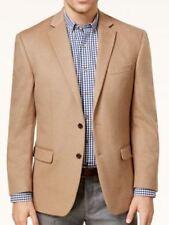 Lauren Ralph Lauren Blazer Size 40S Men Cashmere Wool Silk Suit Jacket Camel