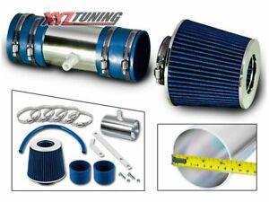 BLUE Short Ram Air Intake Induction Kit + Filter For 09-11 Traverse 3.6L V6