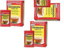 3 x 25 Satchels SYMINGTONS Dandelion Tea Bags  (75 satchels in total)