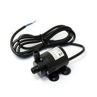 JT-160-12 Mini Brushless Water Pump Amphibious 6V-12V Submersible Pump W/Cable