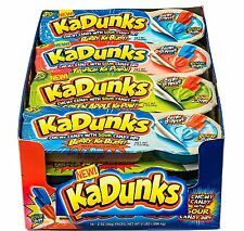 KaDunks Candy 16-2oz packs  sweet chewy dippers fruit-flavored sour dip