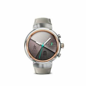 "Asus ZenWatch 3 WI503Q-SL-BG AMOLED 1.39"" Smart watch WiFi Beige Leather Silver"