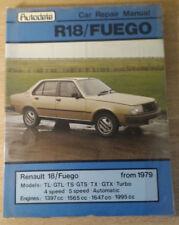 Autodata Car Repair Manual,  Renault 18/Fuego from 1979
