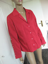 Betty Barclay tolle Bluse 44 rot langarm