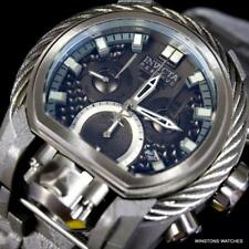 Invicta Reserve Bolt Zeus Magnum Hydroplated Gray Steel 52mm Swiss Mvt Watch New