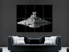STAR WARS DESTROYER SHIP  ART WALL LARGE IMAGE GIANT POSTER