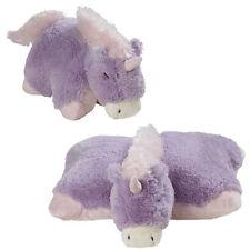 "Lavender Unicorn Pillow Pets 18"" Large Stuffed Animal"