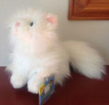 Webkinz Persa Gato (HM110) Nuevo con etiqueta sin usar; Código Sin Usar Sellado-Animal de la felpa
