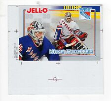 Mike Richter * RARE * 1995 Lot of 3 PROOF SHEET  Variations  RANGERS HOCKEY