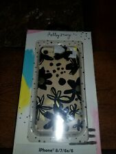 Ashley Mary iPhone 8/7/6s/6 Case - Ink Flowers Black