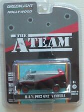 GREENLIGHT 1/64 HOLLYWOOD A TEAM VAN 1983 GMC VAN L'AGENCE TOUS RISQUES