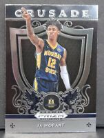 Ja Morant RC 2019-20 Panini Prizm Draft Picks Crusade Rookie Card #11 Grizzlies