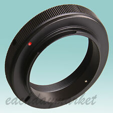 T/T2 lens to Canon EOS EF mount adapter ring for DSLR camera 50D 600D 750D 1200D