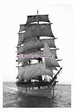 rs0116 - UK Sailing Ship - Raupo , built 1876 - photograph
