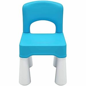 """Plastic Kids Chair, Durable and Lightweight, 9.65"""" Height Seat, Indoor or Outdoo"""
