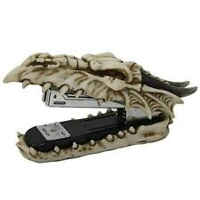 CELTIC STONE-LOOK DRAGON SKULL DESKTOP STAPLER - IMPRESSIVE!