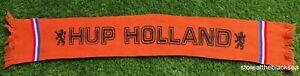 HOLLAND NETHERLANDS SCARF FOOTBALL SOCCER ONE SIZE UNISEX ORANGE