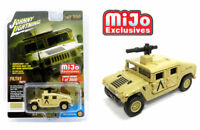Johnny Lightning 1/64 Off Road Military Police Humvee Tan Diecast JLCP7158