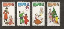 SINGAPORE 1971 FESTIVALS  SET OF 4 MNH