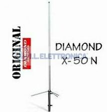 Diamond X-50 N Antenna Vertical for Base for 144/430 MHZ 1,7 Mt.800005