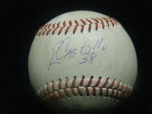 Rusney Castillo Cuba $72M Boston Red Sox signed game used AFL baseball