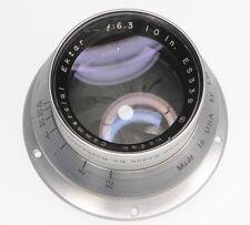 Kodak Commercial Ektar 10in f6.3 Barrel Lens  #ES338