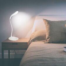USB Lámpara de LED De Escritorio Mesa Flexible interruptor tactil Luz leer Dibuj