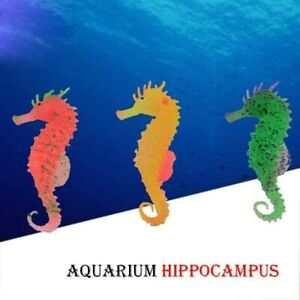Simulation Lumineux Hippocampe pour Aquarium Décorations Aquarium Déco