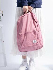 Herschel Cotton Casuals Daypack Pink Women's Backpack NEW !