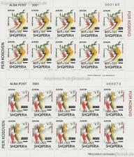 EUROPA CEPT 1995 / 2001 - ALBANIEN AUFDRUCK KOSOVO 2784-85 KLEINBOGEN