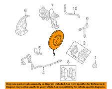 MITSUBISHI OEM 01-06 Montero Front Brake-Disc Rotor MR407116