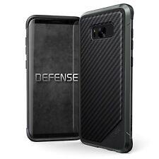 X-Doria Defense Lux Extremschutz Case Carbon Aluminium für Galaxy S8 schwarz