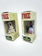 Wallace and Gromit Typhoo Tea Salt And Pepper Pot Shaker Feathers McGraw Penguin